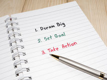 8 grandes ideais Imagem de Stock Royalty Free