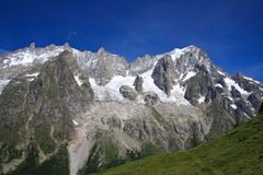 Grandes Jorasses Royalty Free Stock Images