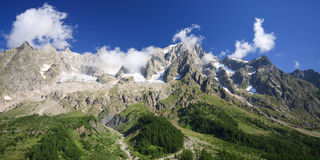 Grandes Jorasses Royalty Free Stock Photos