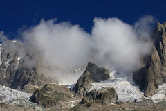 Grandes Jorasses Royalty Free Stock Photo