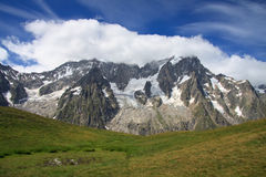 Grandes Jorasses Stock Images