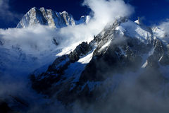 Grandes Jorasses Stock Photos