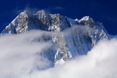 Grandes Jorasses Royalty Free Stock Photography