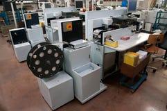 Grandes laboratórios tornando-se centralizados da foto Fotos de Stock