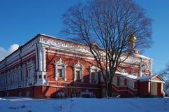 Grandes monastérios de Rússia Convento de Novodevichy Imagem de Stock Royalty Free