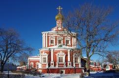 Grandes monastérios de Rússia Convento de Novodevichy Imagem de Stock