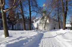 Grandes monastérios de Rússia Convento de Novodevichy Fotografia de Stock