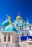 Grandes monasterios de Rusia Nuevo monasterio de Jerusalén, Istra Fotos de archivo