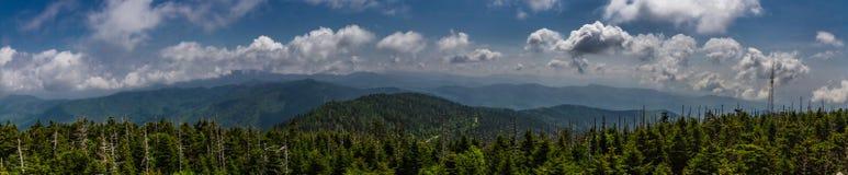 Grandes montañas de Smokey Foto de archivo