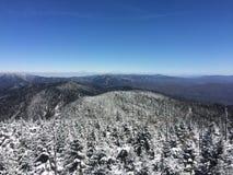 Grandes montanhas de Smokey foto de stock royalty free