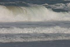 Grandes ondas. Fotografia de Stock