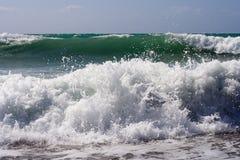Grandes ondas Fotos de Stock Royalty Free