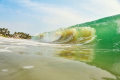 Grandes ondes Photographie stock libre de droits