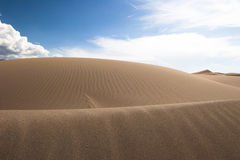 Grandes parque nacional y coto 08 de las dunas de arena Foto de archivo