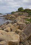 Grandes pedras imagens de stock