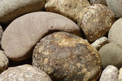 Grandes pierres en détail comme texture de fond Image libre de droits