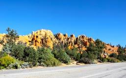 Grandes pináculos cinzelados afastado pela erosão Imagem de Stock Royalty Free