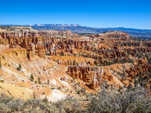 Grandes pináculos cinzelados afastado pela erosão Fotografia de Stock Royalty Free