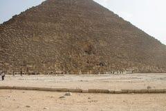 Grandes pirâmides de Gizah no Cairo, Egito Fotos de Stock