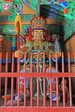 Grandes reis celestiais Estátua do budista quatro Imagens de Stock Royalty Free