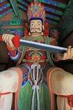 Grandes reis celestiais Estátua do budista quatro imagem de stock royalty free