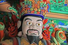 Grandes reis celestiais Estátua do budista quatro fotos de stock royalty free