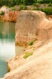 Grandes reservatórios e monte alto em Tailândia fotos de stock royalty free