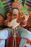 Grandes reyes divinos Statue del budista cuatro Foto de archivo libre de regalías