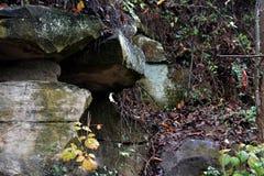 Grandes rochas Fotografia de Stock
