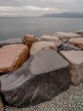 Grandes rochas Reykjavik Islândia imagens de stock