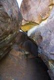 Grandes roches de paysage de courbure Photos libres de droits