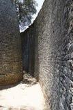 Grandes ruínas de Zimbabwe fotografia de stock