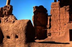 Grandes ruinas de las casas Imagen de archivo libre de regalías