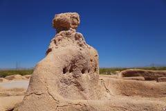 Grandes ruines de maison Photographie stock libre de droits