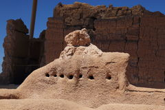 Grandes ruines de maison Photo libre de droits
