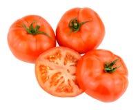 Grandes tomates fraîches de boeuf Photo libre de droits