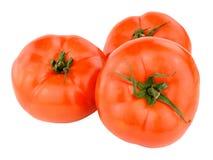 Grandes tomates frescos da carne Foto de Stock Royalty Free