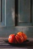 Grandes tomates rouges RAF Image libre de droits