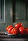 Grandes tomates rouges RAF Photos libres de droits