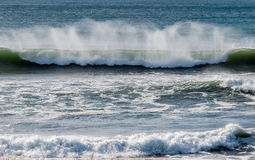 Grandes vagues Washington State Images stock