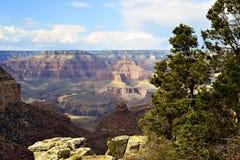 Grandet Canyon färgar Royaltyfri Foto