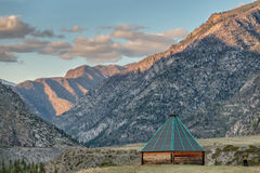 Grandeur of the mountains. Grandeur of the Altay mountains Royalty Free Stock Photo
