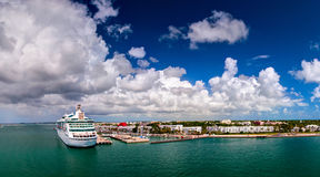 `Grandeur of the Seas` cruise ship was docked in the port of Key West, Florida. USA Stock Photos