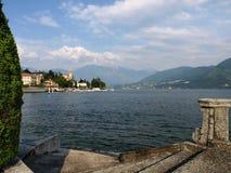 View over Lake Como to Tremezzo Royalty Free Stock Images
