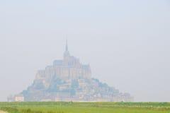 Grandeza del Saint Michel de Mont Imágenes de archivo libres de regalías