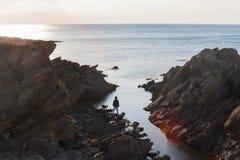 A grandeza do oceano fotos de stock royalty free