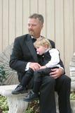 grandfather внук Стоковая Фотография RF