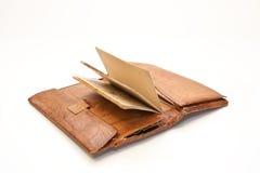 grandfather старый бумажник s Стоковая Фотография RF