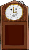 Grandfather Clock with Blank Numbers Stock Photography