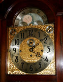 Grandfather clock face Royalty Free Stock Photo